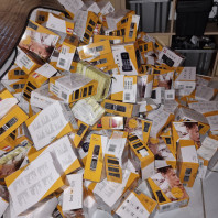 500 devices Bea-Fon ABC goods remaining stock mostly in original packaging