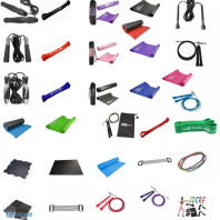 FITNESS ACCESSORIES - Skipping Ropes, Mats, Tapes and more