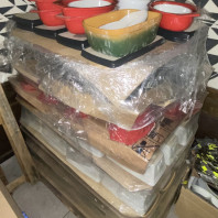 Earthenware ware all new one pallet 160 units