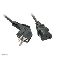 power cable with rubber plug universal - power cable - Europe - IEC