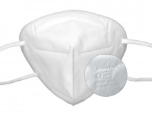 FFP2 masks white ✔️ 5 layers ✔️ CE0370 ✔️ individually packed ✔️ lot