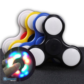 Stock of hand spinners with LED light