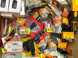 Construction Goods And Tools Accessories Stock All New 544 Pieces