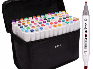 ALCOHOL MARKERS PRO SET OF 80 PCS TOUCH + BAG