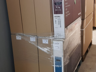TV sets 32~75 inch working class A pallets 8 pieces