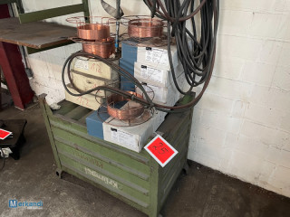 Auction: Lot of welding wire