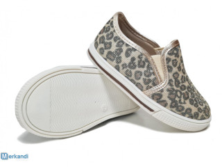 Sprox kids shoes with leopard print and glitters
