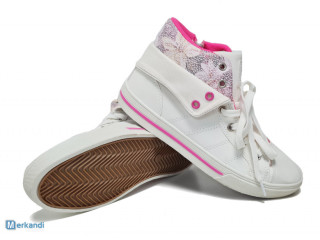 White 'Play zone' kids shoes - girl's sneakers