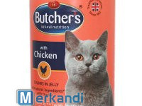 BUTCHER'S NATURAL&HEALTHY CAT WITH CHICKEN CHUNKS IN JELLY 400g