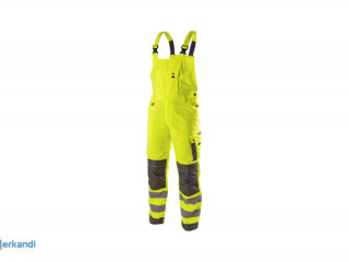 WERSE High-visibility dungarees yellow