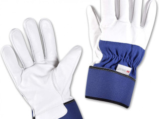 Men's winter work gloves size 10 XL leather with Thinsulate® lining