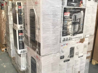 Mixed pallets household appliances, electr. Kitchen items A / B / C