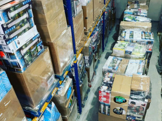 Discounter mixed pallets of household appliances / electronic goods re