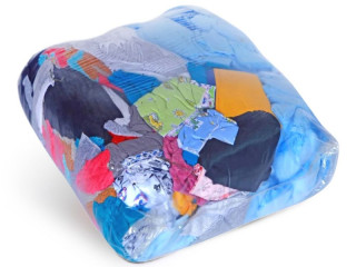 Wiping rags mix cotton colored textiles