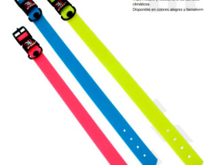 Pet leashes and collars