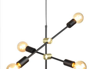 Modern loft pendant lamp 4 (sold without bulbs)