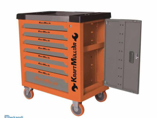 KRAFTMULLER SERVANTE D WORKSHOP 7 DRAWERS AMONG WHICH 6 FULL 535 PIECES
