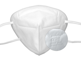 FFP2 masks white ✔️ 5 layers ✔️ Lot ✔️ CE0370 ✔️ individually packed