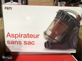 NEW | PEM vacuum cleaner without bag VC-111 | with original packaging