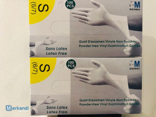 VINYL GLOVES WITHOUT LATEX