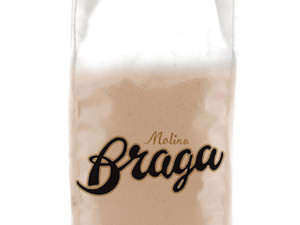 Molino Braga   Red pea flour from Italy, 10kg   Best before: 06/2021
