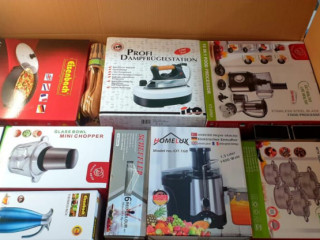 NEW GOODS approx. 45-55 pieces of household appliances MIX in a box