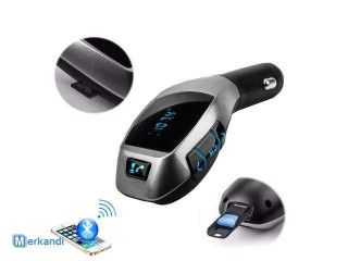 Portable FM transmitter with LED display X5